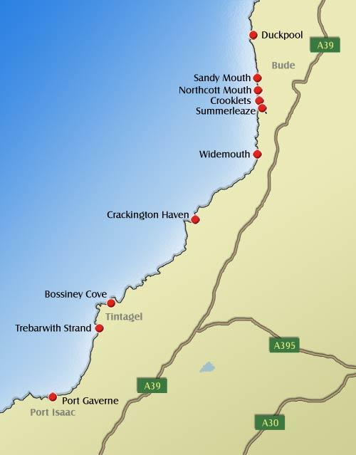 Bude Crackington Haven Widemouth Bay Summerleaze