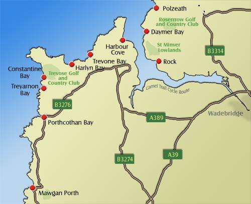 padstow rock polzeath daymer bay beach guide beaches of cornwall Polzeath Map polzeath, padstow, constantine and mawgan porth beaches polzeath map