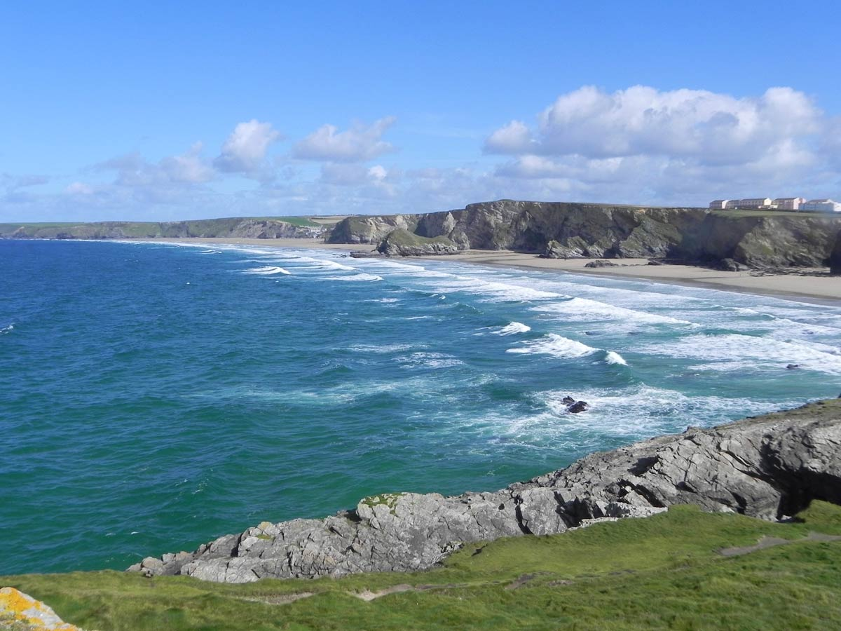 Holiday Apartments in Newquay - Newquay panoramic coastal views - old ...