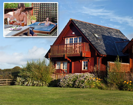 Gwel an Mor Luxury Self Catering Lodges - Luxuri鰏e Ferienpark mit Selbstverpflegung - Self catering