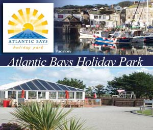 Atlantic Bays Holiday Park     Padstow     Self-catering  Lodges + Camping + Caravans + Tourers