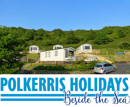 Beachside Caravans - Polkerris - Self Catering Static Caravan + Self Catering + Holiday Park