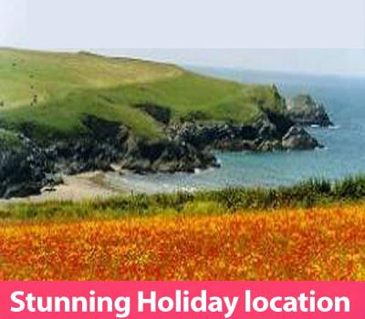 Beach View Holiday Bungalows & Caravans     Cubert near Newquay     Self Catering Static Caravan, Self catering