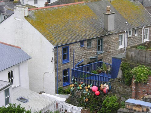 Astonishing St Ives Fishermans Cottage The Blue House With Sea Views And Home Interior And Landscaping Ologienasavecom