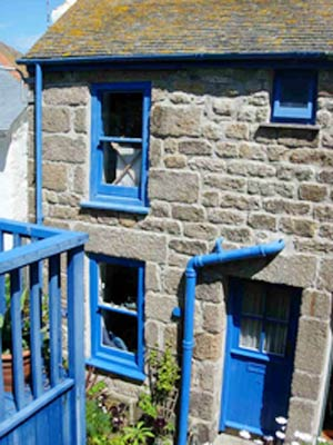 The Blue House - St Ives - Self Catering