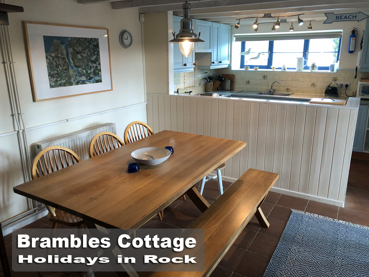Brambles Cottage   Holiday Cottage In Rock   Sleeps 2 To 8 People