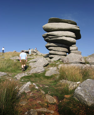 Bodmin Moor the Cheesering - photo M Frost