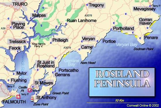 Roseland Peninsula Cornwall Online