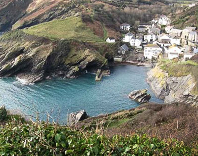 Portloe on the Roseland Peninsula