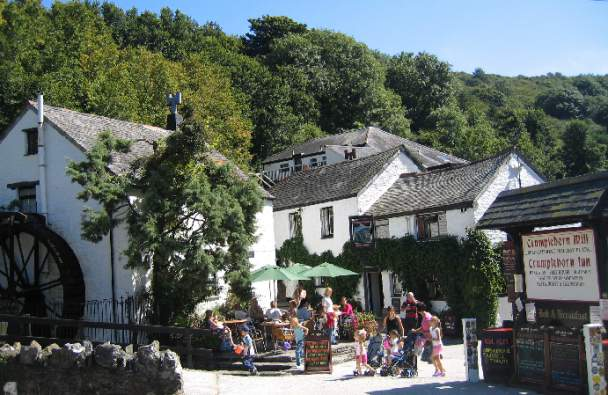 Crumplehorn Inn & Mill     Polperro     Bed & Breakfast + Self catering + Hotel