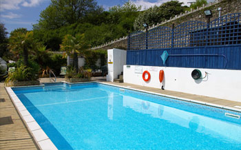 Fieldhead Hotel Looe Swimming Pool Looe B B Sea Views Fieldhead Hotel Retired Advert