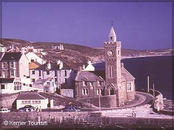 Porthleven Institute  and Clock tower