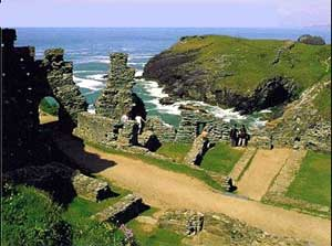 Tintagel Cornwall - Cornwall Online's Tintagel and Boscastle pages