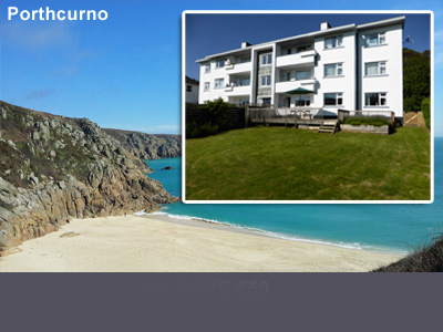 Garden Apartment Porthcurno - Self catering