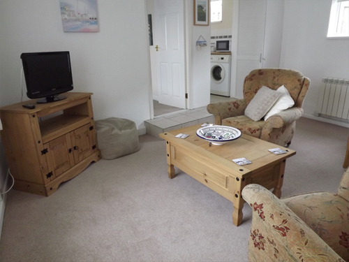 Grangewood Holiday Flat     Cubert, Near Newquay     Self catering