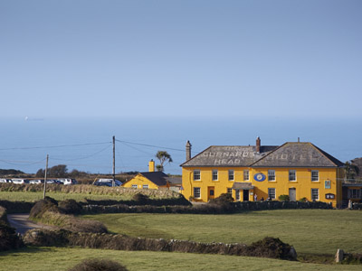 The Gurnards Head Hotel     Nr Zennor, St Ives     Bed & Breakfast