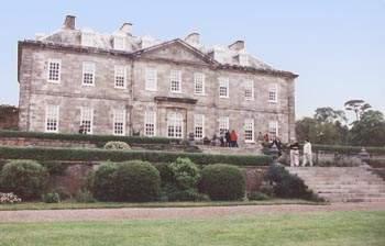 Antony House - Cornwall Hetitage - Tim Burton Alice in