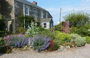 Keigwin Farmhouse     Morvah, Nr Zennor     Bed & Breakfast + Self catering