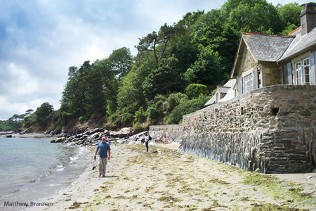 The Beach at Durgan - Glendurgan Gardens - Photo Matthew Brannan
