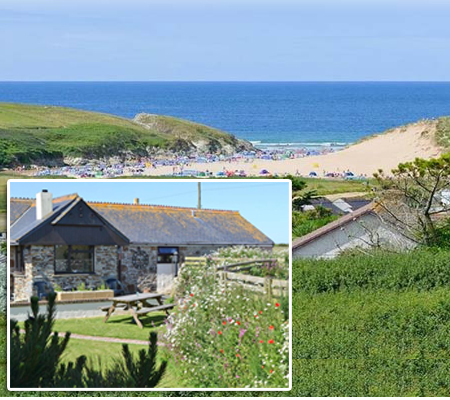Lewannick Farm Cottages     Holywell Bay     Self catering