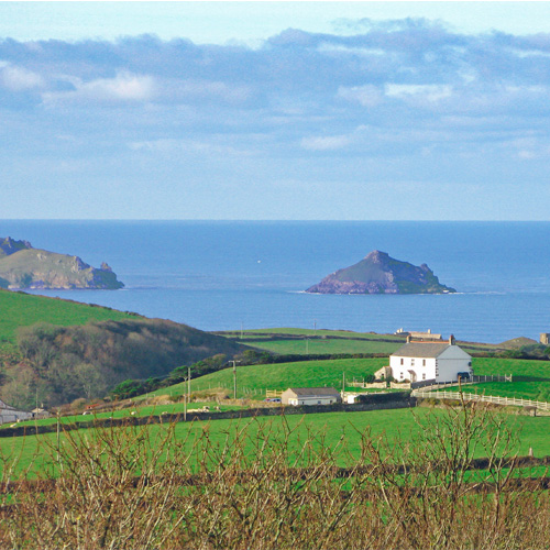 The Longcross Holiday Cottage     Port Quin , nr Port Isaac     Self catering