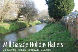 Mill Garage Holiday Flats     Nr Mevagissey     Self Catering