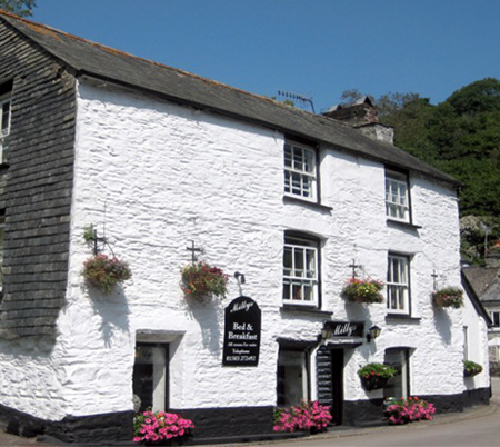 Milly Bed and Breakfast     Polperro     Bed & Breakfast