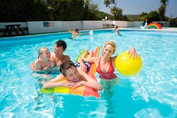 Holywell Bay Holiday Park - Self Catering Static Caravan + Camping + Touring