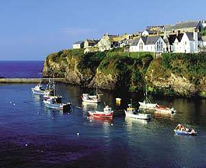 Port Isaac - boats in Harbour
