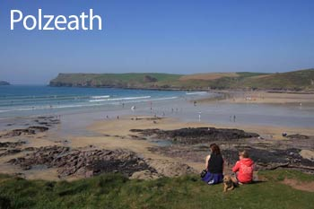 Polzeath - View over the Beach