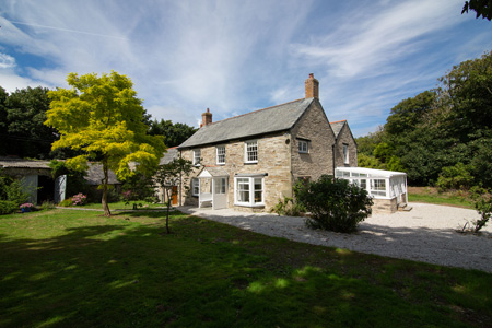 The Old Vicarage Holiday Cottage     Tintagel     Self catering