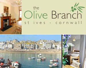The Olive Branch     St Ives     Bed & Breakfast