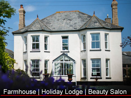 Penleaze luxury self-catering holidays - (Farmhouse - Holiday Lodge - Beauty Salon)  - Self Catering