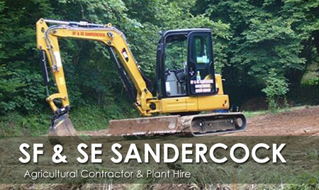 SF & SE SANDERCOCK - Plant Hire - Local Business