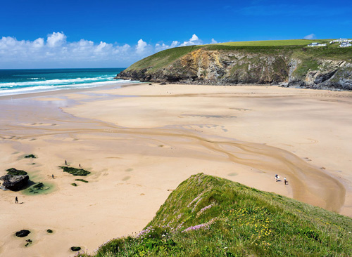 Sun Haven Valley Country Holiday Park     Mawgan Porth, nr Newquay     Self Catering Camping + Caravans + Tourers + Self Catering Static Caravan