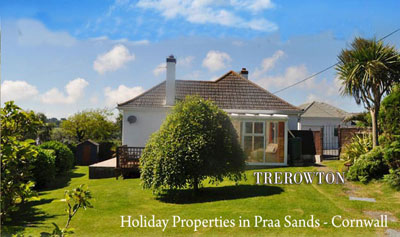 Cornerstones Holiday Lettings - Praa Sands - Self Catering