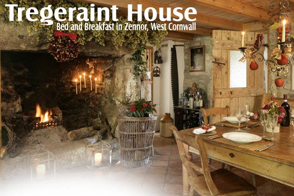 Tregeraint House Bed And Breakfast Accommodation Zennor