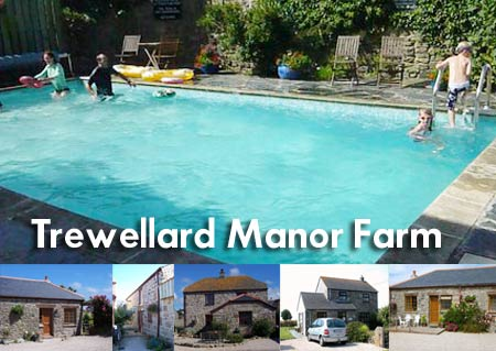 Trewellard Manor Farm - Self catering